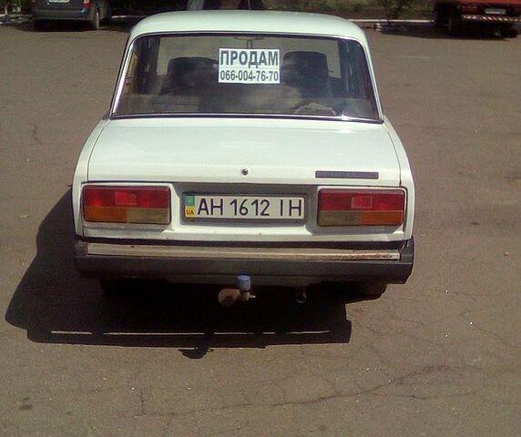 Белый ВАЗ 2107, объемом двигателя 1.5 л и пробегом 82 тыс. км за 1000 $, фото 1 на Automoto.ua