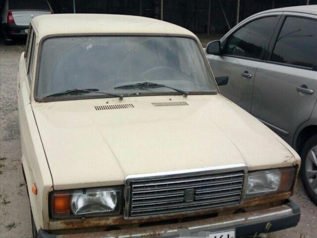 Бежевый ВАЗ 2107, объемом двигателя 1.5 л и пробегом 128 тыс. км за 1194 $, фото 1 на Automoto.ua