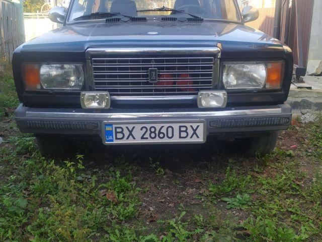 Черный ВАЗ 2107, объемом двигателя 1.5 л и пробегом 138 тыс. км за 1800 $, фото 1 на Automoto.ua