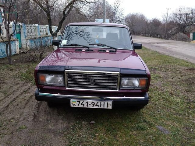 ВАЗ 2107, объемом двигателя 1.5 л и пробегом 191 тыс. км за 2200 $, фото 1 на Automoto.ua