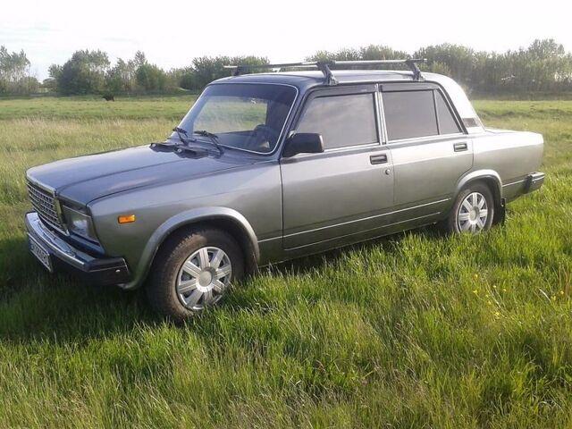Серый ВАЗ 2107, объемом двигателя 1.5 л и пробегом 77 тыс. км за 3400 $, фото 1 на Automoto.ua