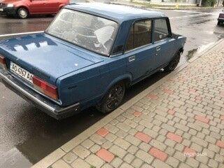 Синий ВАЗ 2107, объемом двигателя 1.5 л и пробегом 94 тыс. км за 1800 $, фото 1 на Automoto.ua