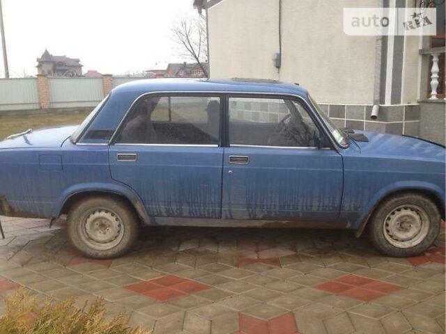 Синий ВАЗ 2107, объемом двигателя 1.3 л и пробегом 1 тыс. км за 800 $, фото 1 на Automoto.ua