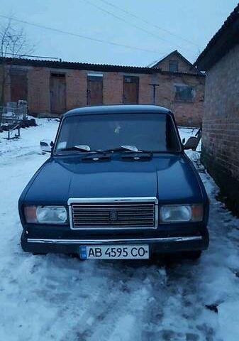 Синій ВАЗ 2107, об'ємом двигуна 0 л та пробігом 219 тис. км за 1900 $, фото 1 на Automoto.ua