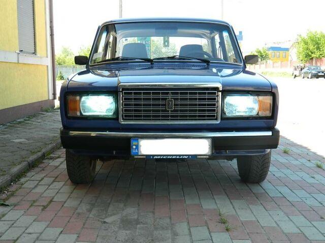 Синий ВАЗ 2107, объемом двигателя 1.5 л и пробегом 101 тыс. км за 3200 $, фото 1 на Automoto.ua