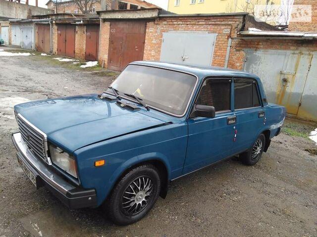 Синій ВАЗ 2107, об'ємом двигуна 0 л та пробігом 68 тис. км за 0 $, фото 1 на Automoto.ua