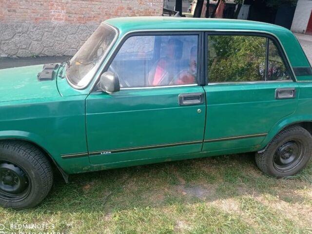 Зелений ВАЗ 2107, об'ємом двигуна 1.5 л та пробігом 240 тис. км за 1100 $, фото 1 на Automoto.ua
