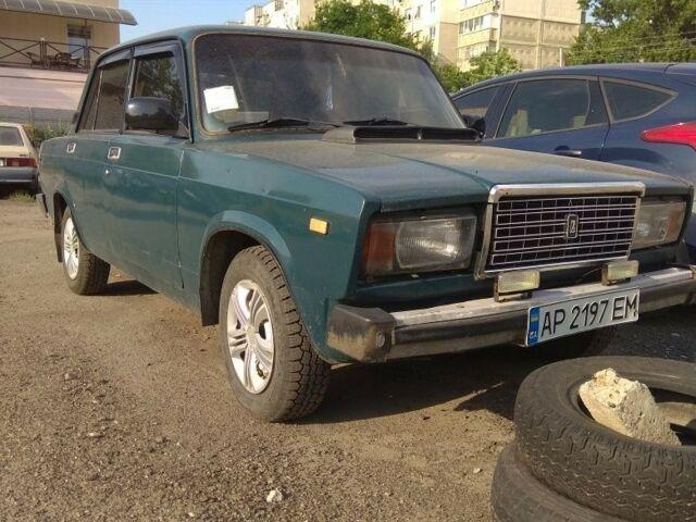 Зеленый ВАЗ 2107, объемом двигателя 1.5 л и пробегом 13 тыс. км за 1572 $, фото 1 на Automoto.ua
