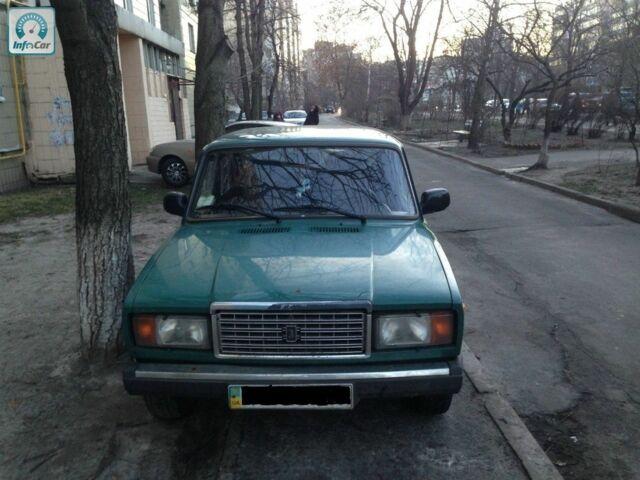 Зелений ВАЗ 2107, об'ємом двигуна 1.5 л та пробігом 38 тис. км за 2200 $, фото 1 на Automoto.ua