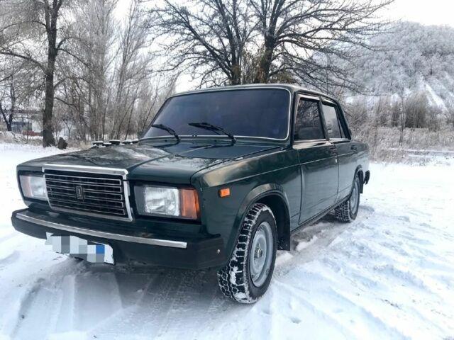 Зелений ВАЗ 2107, об'ємом двигуна 1.5 л та пробігом 82 тис. км за 1750 $, фото 1 на Automoto.ua