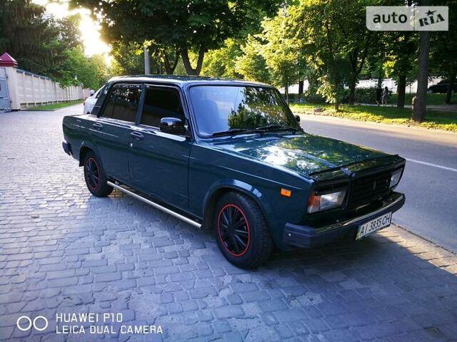 Зеленый ВАЗ 2107, объемом двигателя 1.5 л и пробегом 80 тыс. км за 2650 $, фото 1 на Automoto.ua