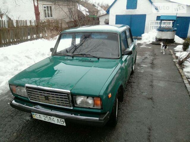 Зеленый ВАЗ 2107, объемом двигателя 0 л и пробегом 80 тыс. км за 1200 $, фото 1 на Automoto.ua