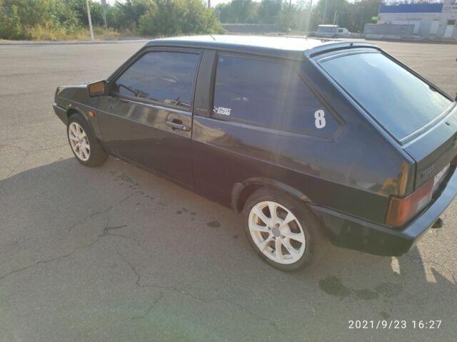 Черный ВАЗ 2108, объемом двигателя 1.3 л и пробегом 150 тыс. км за 1600 $, фото 1 на Automoto.ua
