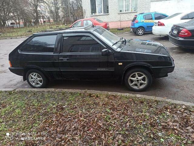 Черный ВАЗ 2108, объемом двигателя 1.5 л и пробегом 15 тыс. км за 1750 $, фото 1 на Automoto.ua