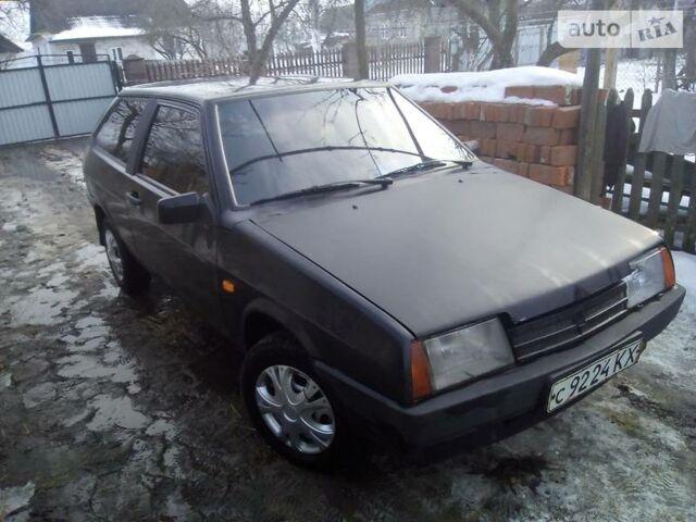 Черный ВАЗ 2108, объемом двигателя 1.3 л и пробегом 50 тыс. км за 1190 $, фото 1 на Automoto.ua