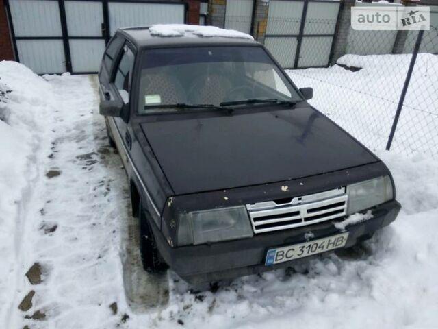 Коричневый ВАЗ 2108, объемом двигателя 1.3 л и пробегом 230 тыс. км за 1000 $, фото 1 на Automoto.ua