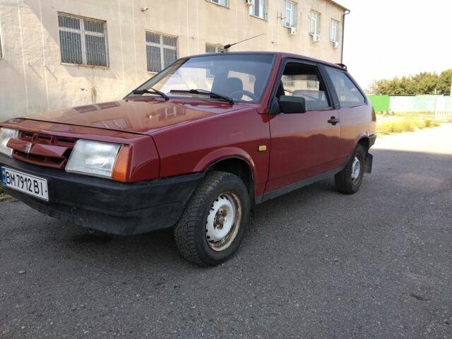 Красный ВАЗ 2108, объемом двигателя 1.3 л и пробегом 70 тыс. км за 1400 $, фото 1 на Automoto.ua