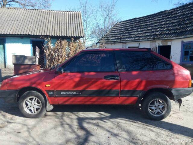 Красный ВАЗ 2108, объемом двигателя 0 л и пробегом 60 тыс. км за 1900 $, фото 1 на Automoto.ua