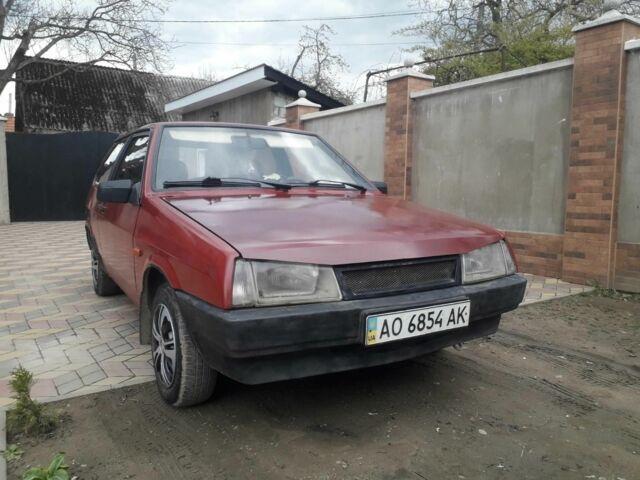 Червоний ВАЗ 2108, об'ємом двигуна 15 л та пробігом 200 тис. км за 1050 $, фото 1 на Automoto.ua