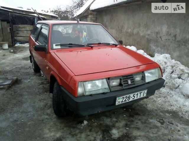 Червоний ВАЗ 2108, об'ємом двигуна 1.3 л та пробігом 5 тис. км за 1350 $, фото 1 на Automoto.ua
