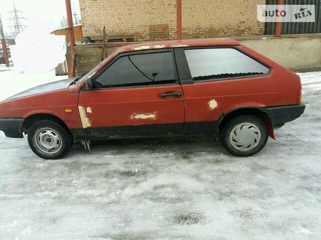 Червоний ВАЗ 2108, об'ємом двигуна 1.5 л та пробігом 260 тис. км за 800 $, фото 1 на Automoto.ua