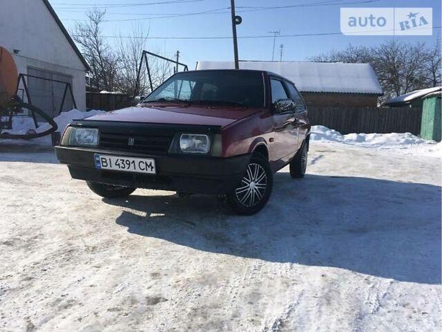 Червоний ВАЗ 2108, об'ємом двигуна 1.5 л та пробігом 1 тис. км за 2000 $, фото 1 на Automoto.ua