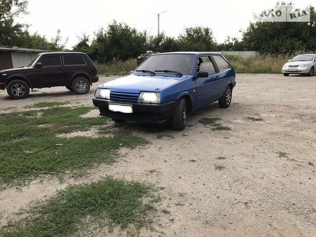 Синий ВАЗ 2108, объемом двигателя 1.3 л и пробегом 20 тыс. км за 2500 $, фото 1 на Automoto.ua