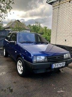 Синий ВАЗ 2108, объемом двигателя 1.5 л и пробегом 1 тыс. км за 2500 $, фото 1 на Automoto.ua