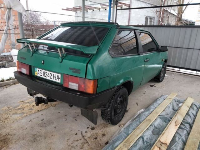Зелений ВАЗ 2108, об'ємом двигуна 1 л та пробігом 100 тис. км за 1300 $, фото 1 на Automoto.ua