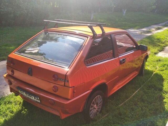 Оранжевый ВАЗ 2108, объемом двигателя 1.3 л и пробегом 5 тыс. км за 1600 $, фото 1 на Automoto.ua