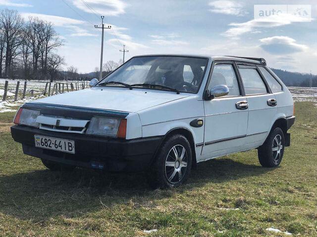 Білий ВАЗ 2109, об'ємом двигуна 1.5 л та пробігом 123 тис. км за 1220 $, фото 1 на Automoto.ua