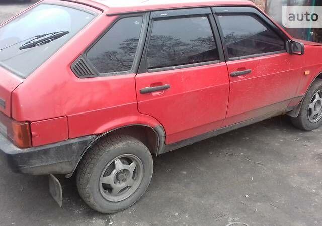 Красный ВАЗ 2109, объемом двигателя 1.3 л и пробегом 73 тыс. км за 1500 $, фото 1 на Automoto.ua