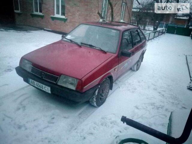 Красный ВАЗ 2109, объемом двигателя 1.5 л и пробегом 20 тыс. км за 3000 $, фото 1 на Automoto.ua