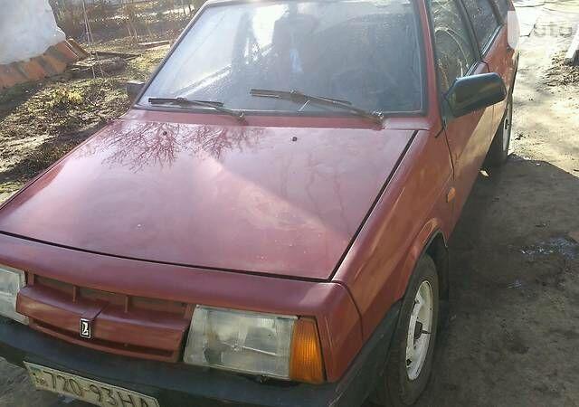 Червоний ВАЗ 2109, об'ємом двигуна 1.5 л та пробігом 80 тис. км за 1550 $, фото 1 на Automoto.ua