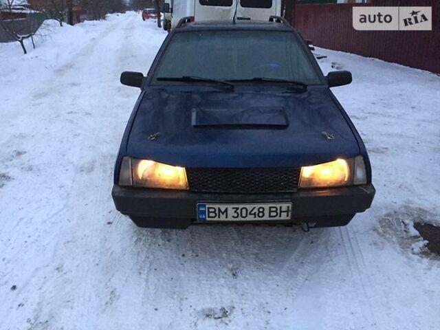 Синий ВАЗ 2109, объемом двигателя 1.5 л и пробегом 333 тыс. км за 1970 $, фото 1 на Automoto.ua