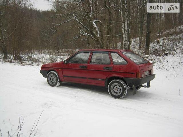 Вишневий ВАЗ 2109, об'ємом двигуна 1.5 л та пробігом 200 тис. км за 1700 $, фото 1 на Automoto.ua