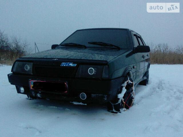 Зеленый ВАЗ 2109, объемом двигателя 1.5 л и пробегом 160 тыс. км за 2500 $, фото 1 на Automoto.ua