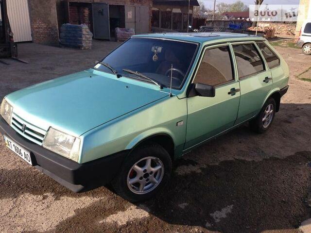 Зеленый ВАЗ 2109, объемом двигателя 1.5 л и пробегом 100 тыс. км за 2100 $, фото 1 на Automoto.ua