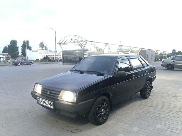 Черный ВАЗ 21099, объемом двигателя 1.6 л и пробегом 180 тыс. км за 3600 $, фото 1 на Automoto.ua