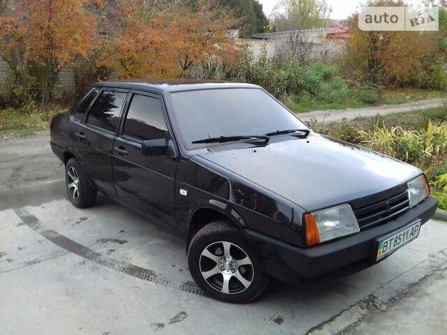 Черный ВАЗ 21099, объемом двигателя 1.5 л и пробегом 190 тыс. км за 2900 $, фото 1 на Automoto.ua