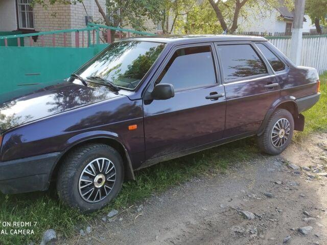 Фиолетовый ВАЗ 21099, объемом двигателя 1.5 л и пробегом 1 тыс. км за 2300 $, фото 1 на Automoto.ua