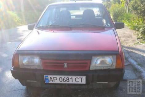 Красный ВАЗ 21099, объемом двигателя 1.5 л и пробегом 15 тыс. км за 1600 $, фото 1 на Automoto.ua