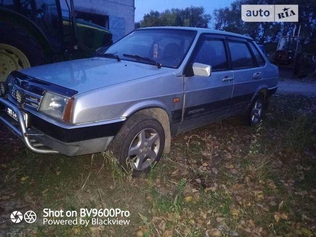 Серый ВАЗ 21099, объемом двигателя 1.5 л и пробегом 60 тыс. км за 2100 $, фото 1 на Automoto.ua