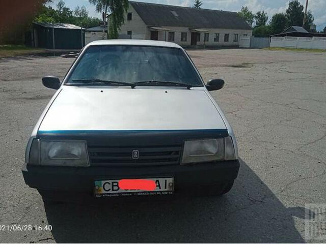 Серый ВАЗ 21099, объемом двигателя 1.5 л и пробегом 267 тыс. км за 2200 $, фото 1 на Automoto.ua