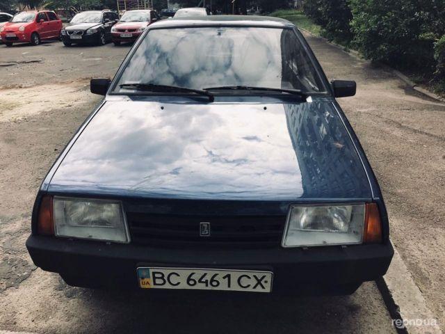 Синий ВАЗ 21099, объемом двигателя 1.5 л и пробегом 109 тыс. км за 1800 $, фото 1 на Automoto.ua