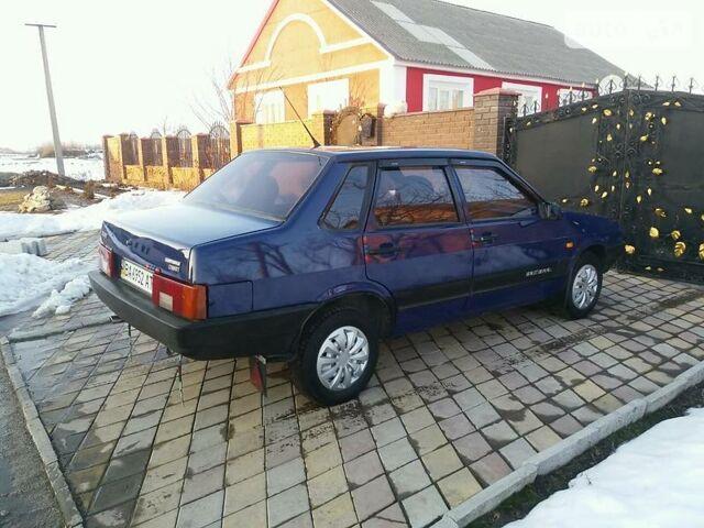 Синий ВАЗ 21099, объемом двигателя 0.1 л и пробегом 140 тыс. км за 2350 $, фото 1 на Automoto.ua