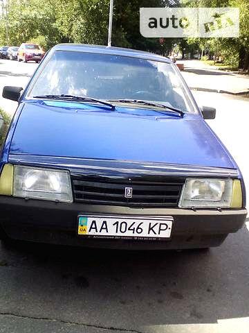 Синій ВАЗ 21099, об'ємом двигуна 1.3 л та пробігом 140 тис. км за 2650 $, фото 1 на Automoto.ua