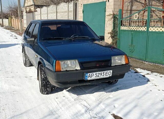 Зелений ВАЗ 21099, об'ємом двигуна 1.5 л та пробігом 380 тис. км за 2500 $, фото 1 на Automoto.ua