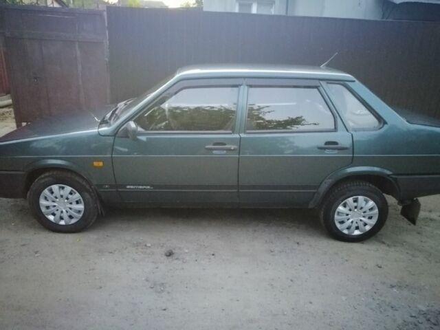 Зелений ВАЗ 21099, об'ємом двигуна 15 л та пробігом 230 тис. км за 3000 $, фото 1 на Automoto.ua