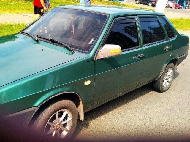 Зеленый ВАЗ 21099, объемом двигателя 0 л и пробегом 200 тыс. км за 2800 $, фото 1 на Automoto.ua